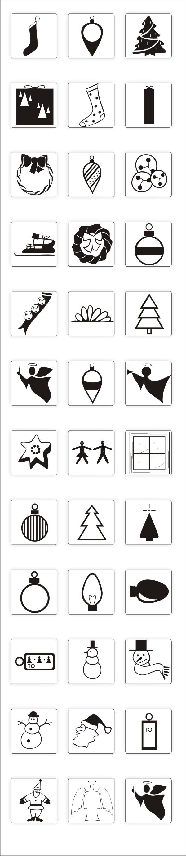 36 X-Mas Icons