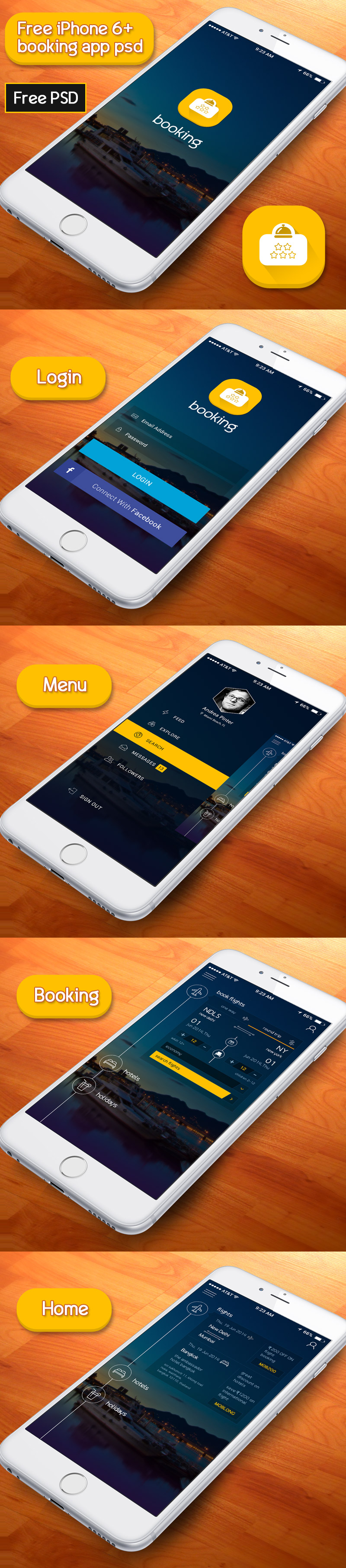 Free App psd