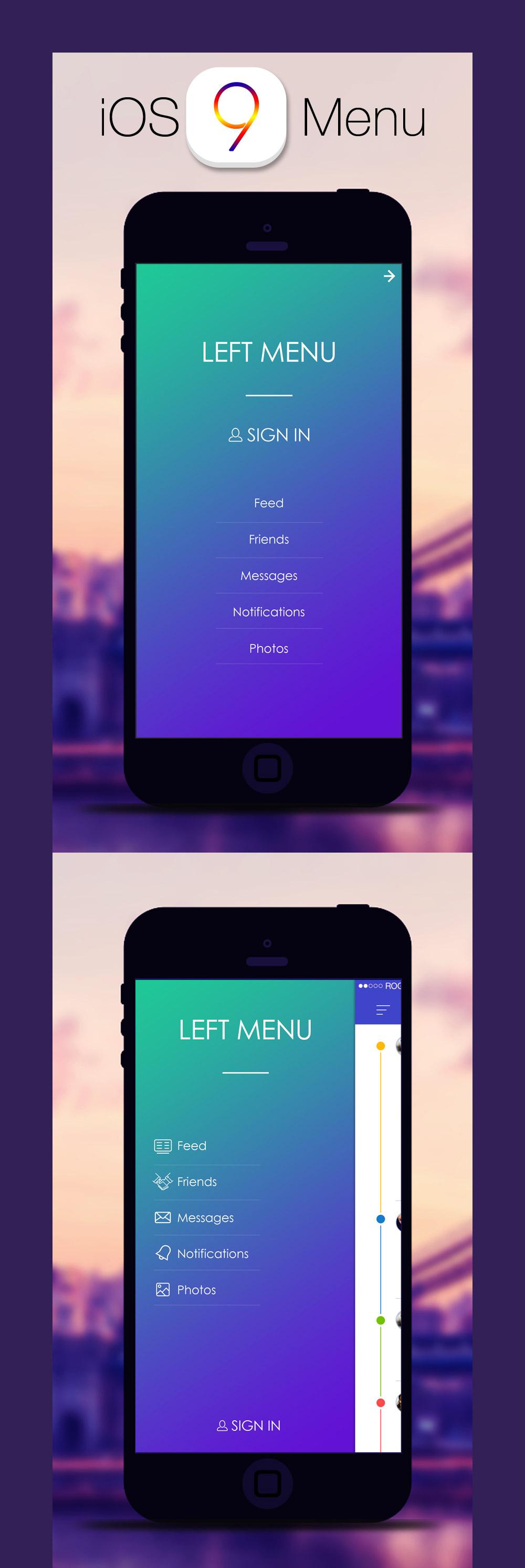 iOS9 UI