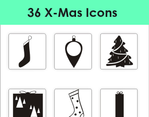 36 Christmas_Icon_pack
