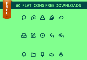 Flat Icons Free Download