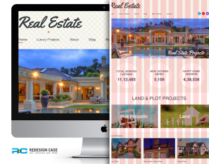 Real Estate Grid Template