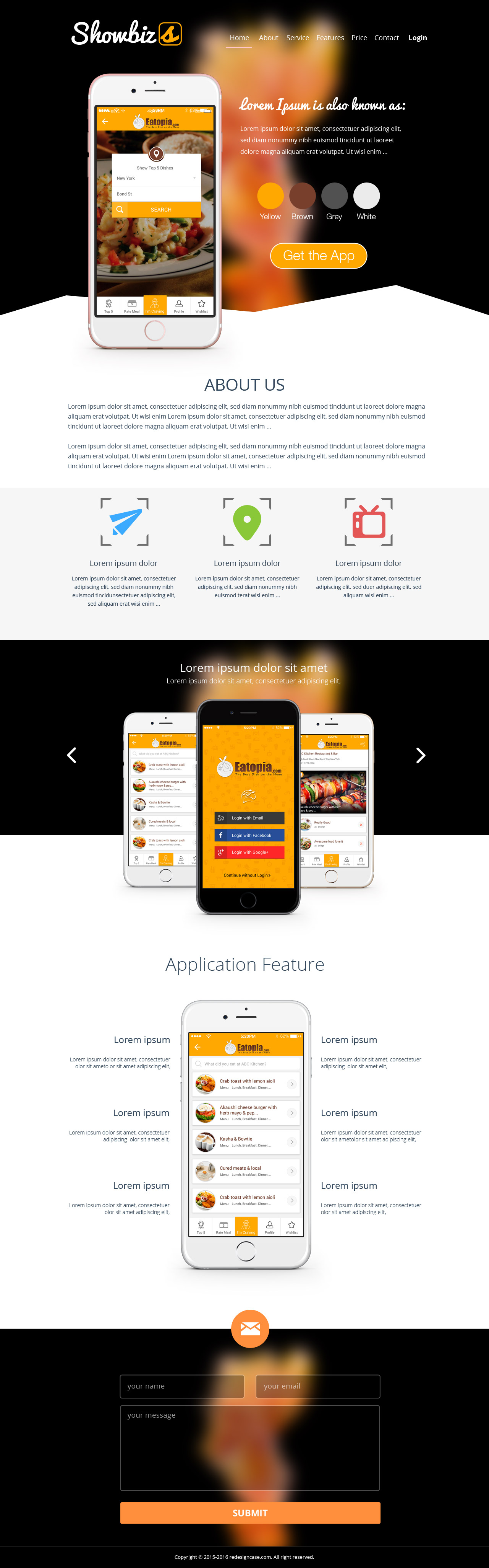 35 free high quality html5 responsive website templates for Mobile site template free download