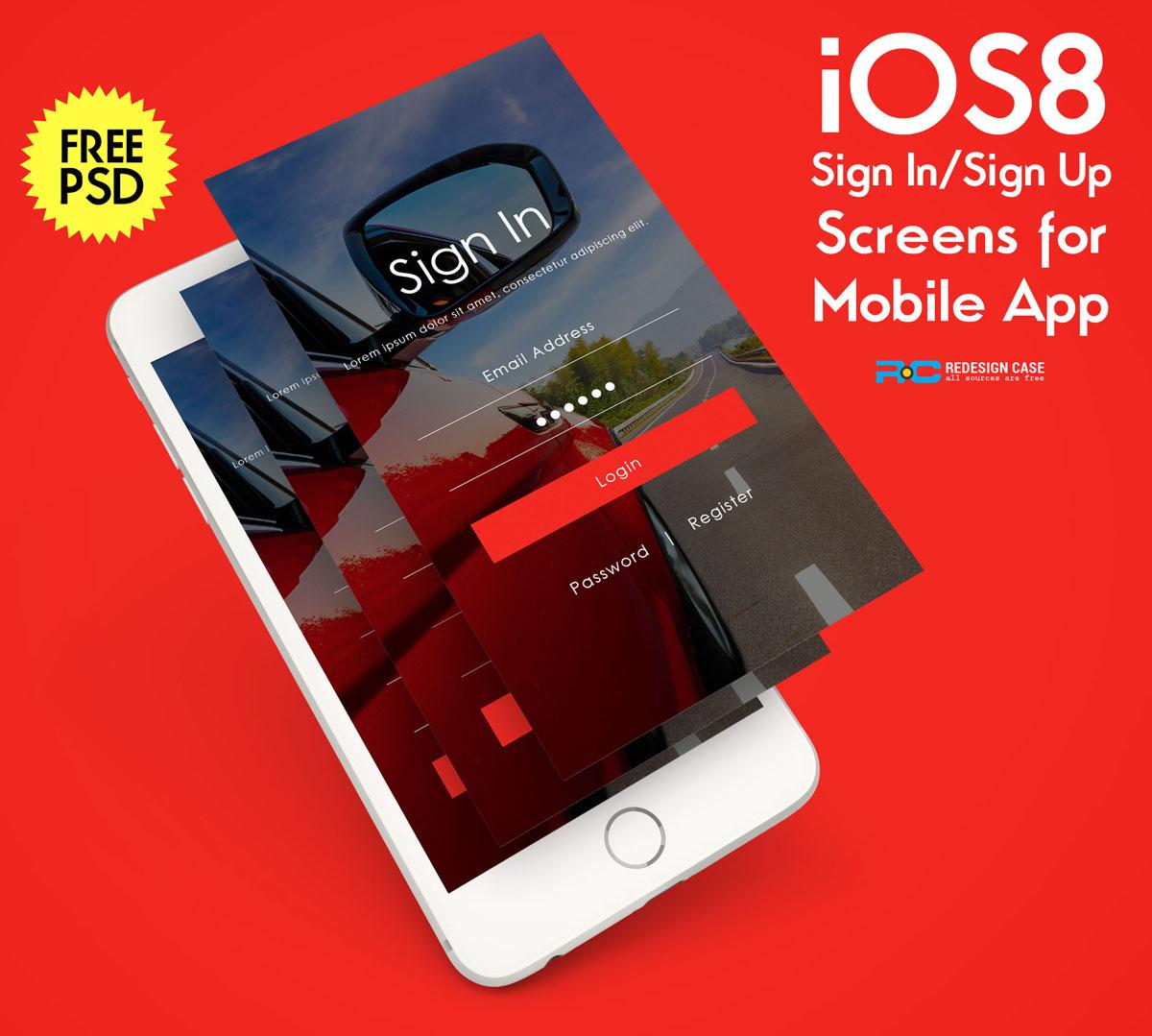 iPhone-6-App-Screen-PSD-Mockup