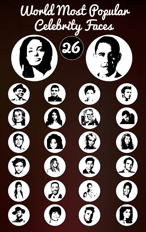 popular faces