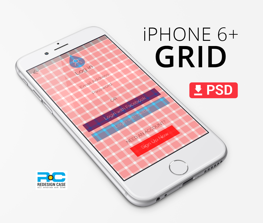 Responsive bootstrap grid psd templates (web, tablet & mobile.