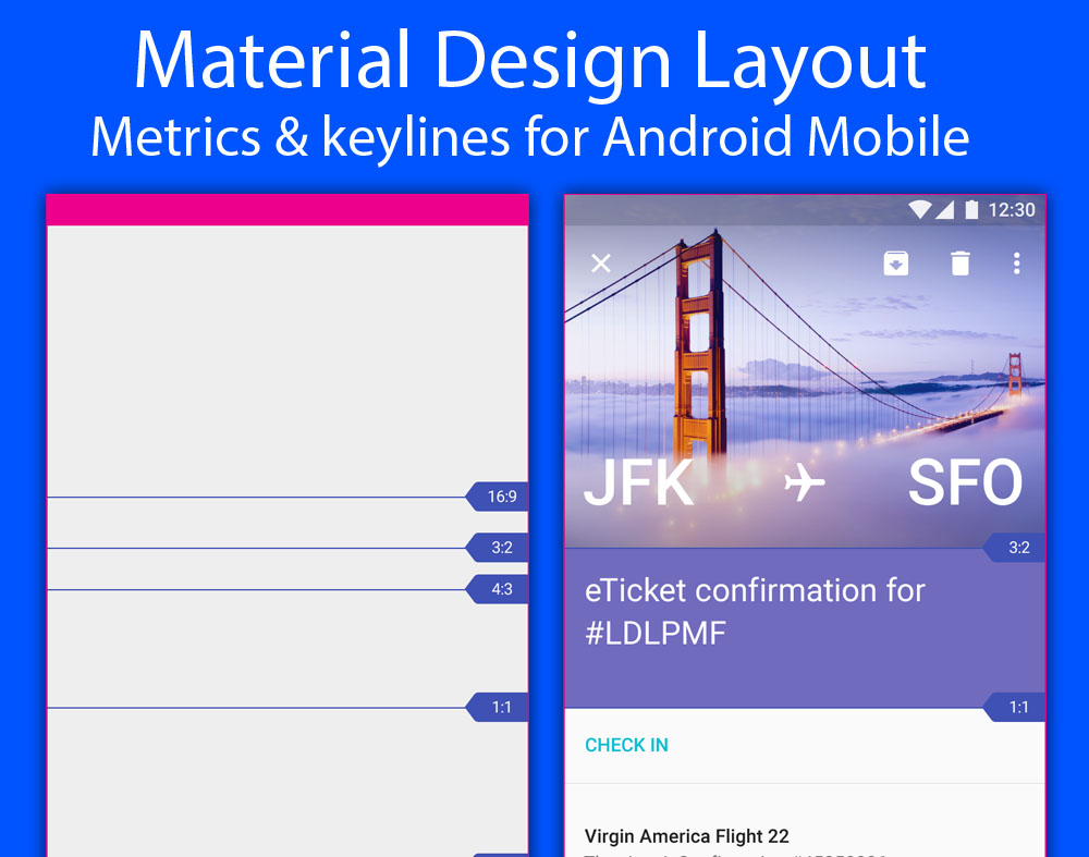 Material design layout metrics keylines for android mobile maxwellsz