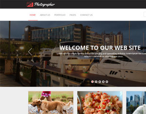 Free Photography Template PSD