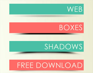 12 Free Web Shadow Boxes