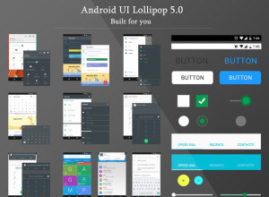 FREE DOWNLOAD ANDROID LOLLIPOP GUI KIT