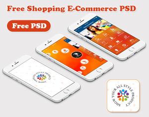 Free Shopping psd