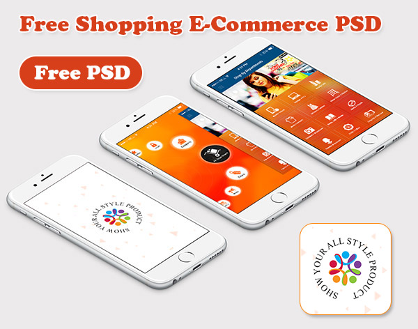 Free Shopping psd
