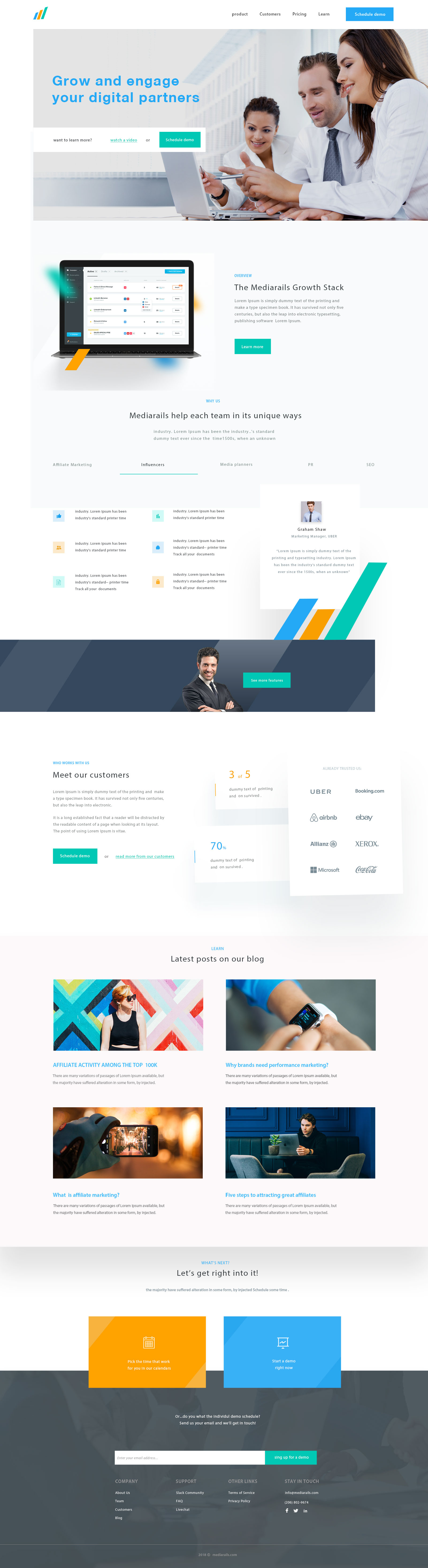 Business-home-page