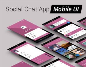 mobile app ui design psd free download