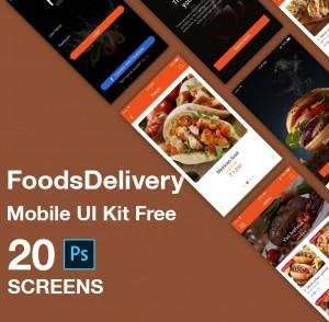 Food-Material-UI-KIT