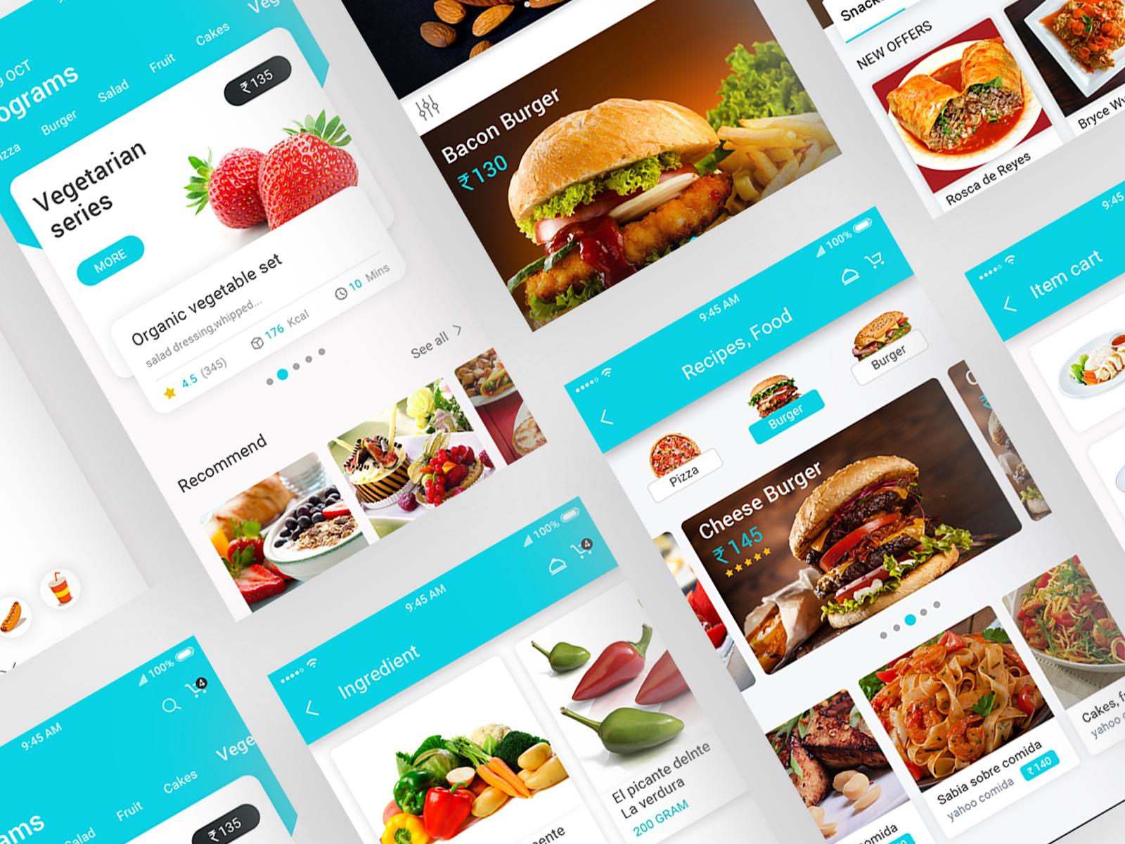 Food-app-design