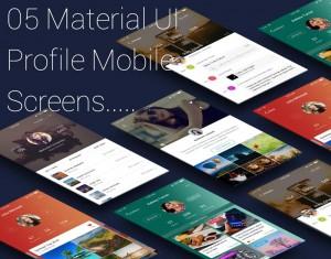 Profile for Mobile App