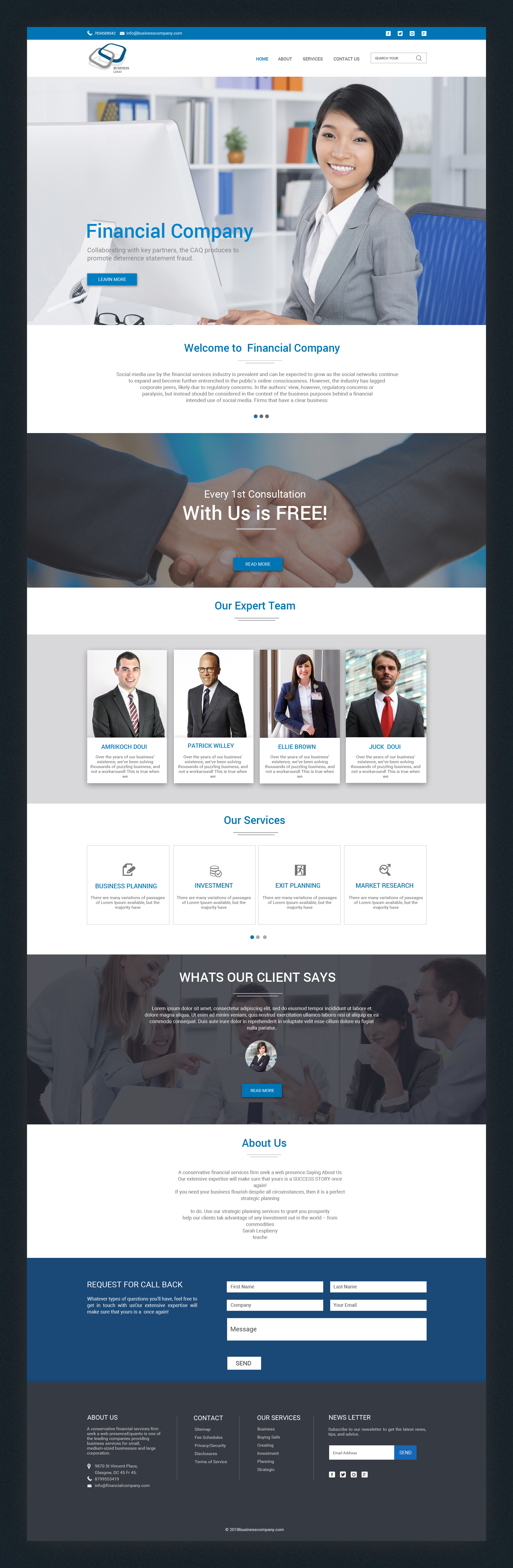 Business landing page template (2)